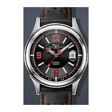 Ball Fireman wrist watches: Fireman Racer Black And White nm2088c-pj-b
