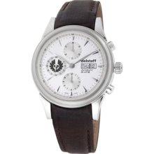 Belstaff Men's BLF1004-BB Vintage Automatic White Dial Watch ...