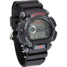 Casio GShock Multifunction Watch, Black/Black, Full