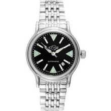 Gv2 By Gevril Mens Automatic Stainless Steel Limited Edition 007/500 Watch 412