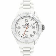 Ice Watch Sili Forever-white-big Big Si.we.bb.s.11 White Dial Resin Band