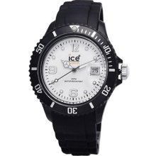 Ice-Watch White and Black Collection Unisex Watch SIBWUS10