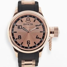 Invicta Russian Diver Rose Gold Tone Stainless Steel Watch - 1439 -