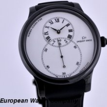 Jaquet Droz Grande Seconde Ceramique White Dial