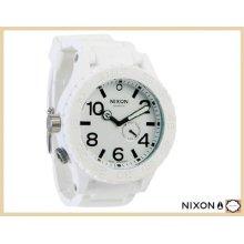 Nixon 51-30 Rubber/silicone White A236 100 Men's Watch Swiss Quartz Tide Surfer
