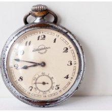 Pocket watch OLD Soviet watch Russian watch - WORKING- Made in 1950th in USSR Russian