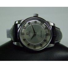 Rare 60's Omega Seamaster Silver Dial Automatic Man's Watch