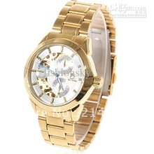Stainless Steelautomatic Mechanical Wristwatch Watch 3 Sub-dials Dec