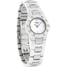 Tissot T-Round Mini Diamond Ladies MOP Dial Swiss Quartz Watch T64.1.685.81
