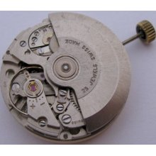 Used As 1986 1985 Automatic 25 J. Elgin Watch Movement For Part