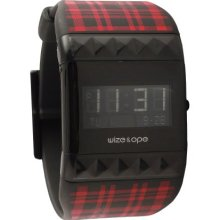 Wize & Ope Unisex Varsity Digital Watch Wo-Var-1 With Black Dial And Touch Screen