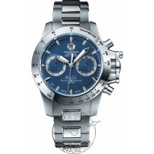 Ball Engineer Hydrocarbon wrist watches: Blue Dial Magnate Chronograph