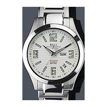 Ball Engineer II COSC II Arabic 40mm Watch - White Dial, Stainless Steel Bracelet NM2026C-S2CA-WH Sale Authentic Tritium