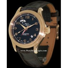 Ball Trainmaster wrist watches: 18kt Rose Gold Cleveland Expre gm1020d