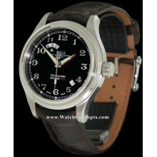 Ball Trainmaster wrist watches: Cleveland Express 2 Time Black gm1020d