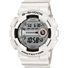 Casio Men's Gd110-7 G-shock White Resin 60 Lap Digital Sport Watch