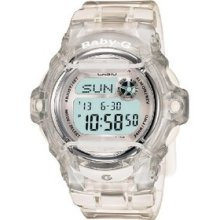 Casio Women S Bg169r-7b Baby-g Clear Whale Digital Sport Watch Fast Shippin