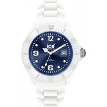 Ice Watch Si.wb.b.s.10 Ice-white Collection Dark Blue Si.wbbs10