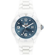 Ice Watch Watch Ice White Collection Jeans Unisex Watch Siwjus10