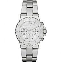 Michael Kors Small Bel Aire Chronograph Silver-tone Ladies Watch MK5498