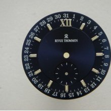 Original Revue Thommen Blue Watch Dial Men's