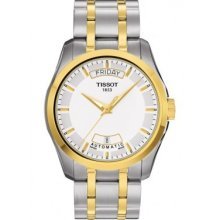 Tissot T0354072201100 Watch T-Trend Mens - White Dial Stainless Steel Case Quartz Movement