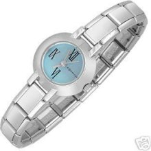 Zoppini Authentic Round Blue Dial Watch Stainless Steel