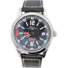 Ball Engineer Master Ii Gmt Gm1032c Black Dial Mens Watch