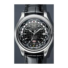 Ball Trainmaster Worldtime COSC 41mm Watch - Black Dial, Black Crocodile Strap GM1020D-L1FCAJ-BK Sale Authentic Tritium