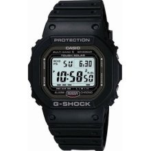 Casio G-shock Gw-5000-1jf - Radio Tough Atomic Solar Watch Gshock Gw50001jf