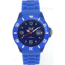Ice Watch Sibebs09 Blue Sili Collection 48mm Fast Ship