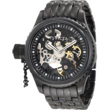 Invicta 1927 Russian Diver Black Skeleton Dial Mechanical Men's Watch