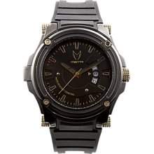 Meister Prodigy Watch (Stainless) (Black / Gold) Size ONESIZE