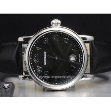 Montblanc watch Star XL NEW 102136 stainless steel watch sale buy sell