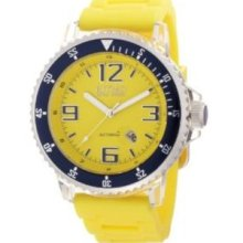 Ritmo Mundo Mens 311/1 Yellow Hercules Automatic