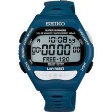 Seiko Super Runners Sbdf025 Blue Watch