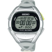 Seiko Super Runners Sbef003 Solar Professional Watch