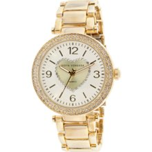 Sofia by Sofia Vergara Ladies' Rose Gold Bracelet Watch With Round