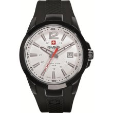 Swiss Military Hanowa Men's Predator 06-4165-13-001 Black Polyure ...