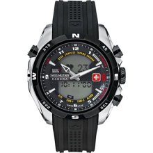 Swiss Military Hanowa Men's Highlander 06-4174-04-007 Black Plast ...