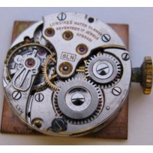 Used Lady Longines 8ln Base 8.68n Watch Movement Complete For Part