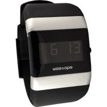 Wize & Ope Unisex Classics Digital Watch Wo-001 With Black Dial And Touch Screen
