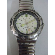 Yds102 Swatch - 1995 Irony Scuba Beach Rider Hands Glow