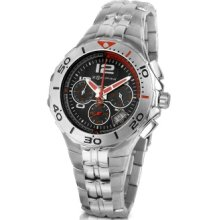 Zoppini Designer Men's Watches, Stainless Steel Bracelet Chrono Watch