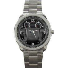 2012 Ford Escape 4wd 4 door xlt Steering Wheel Sport Metal Watch - Stainless Steel