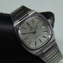 80's Omega Seamaster Silver Dial Cal:1012 Date Auto Man's