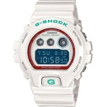 Casio G-Shock 6900 Sneaker Color Series Watch - WHT - White regular