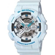 Casio Gshock White Mens Watch Ga110sn7a