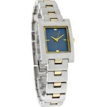 Citizen Quartz Ladies Blue Dial Two Tone Bracelet Dress Watch EJ4084-57L