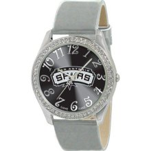 Game Time Official Team Colors. Nba-Gli-Sa Women'S Nba-Gli-Sa Glitz Classic Analog San Antonio Spurs Watch